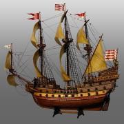 677px-Model_ship_-_Das_Wappen_von_Bremen