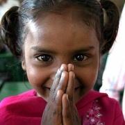 Indian-Girl-Namaste